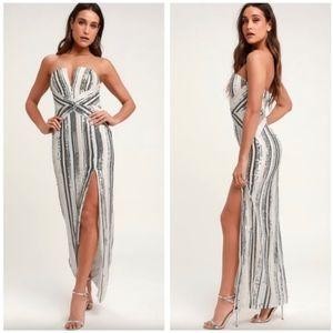 Lulu's | Multi Sequin Dress